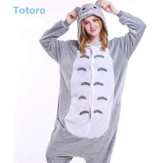 Totoro & Dinosaur Kigurumi Pajamas