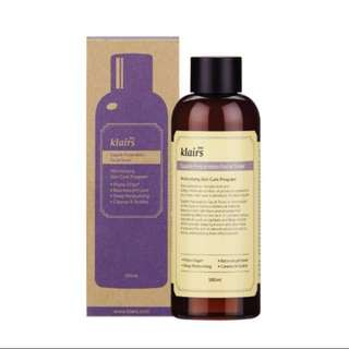 BNIP Klairs Supple Preparation Toner