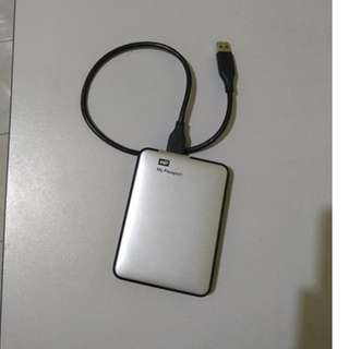 Western Digital 500GB External Hard Drive