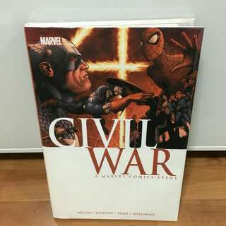 Marvel Civil War Hardcover