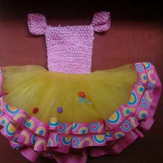 Candy land tutu dress