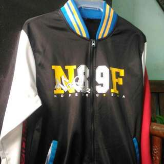 No Fear Varsity Jacket