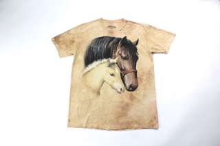 Distressed horse t shirt