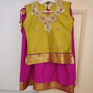 Preloved Kids Punjabi Suit
