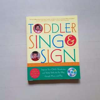 Toddler Sing & Sign Book, Kids