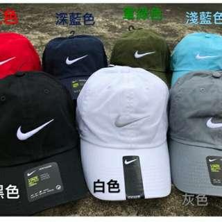 🚚 全新正貨淺藍/灰 9成新黑/白NIKE棒球帽