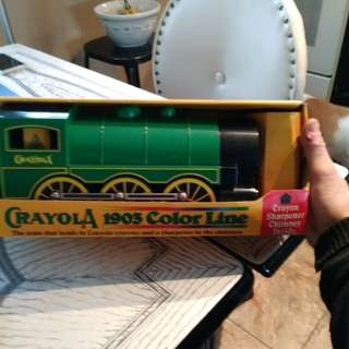 Crayola train