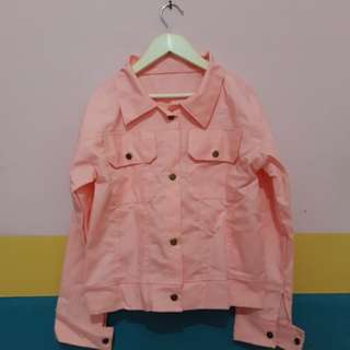 Pink Jacket / Outer
