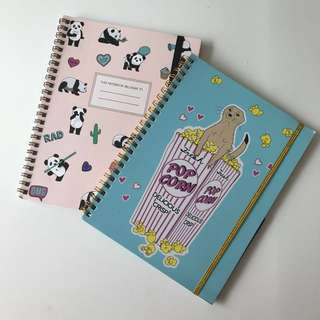Typo A5 limited edition notebooks