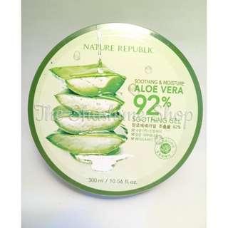 Nature Republic Soothing & Moisture Aloe Vera 92 Soothing Gel 300ml