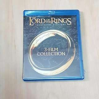 The Lord Of The Rings Theatrical Versions, 3-Film Collection Blu-ray Disc *Brand New*
