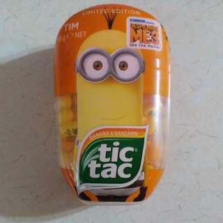 Tic tac糖 香蕉及 柑橘味