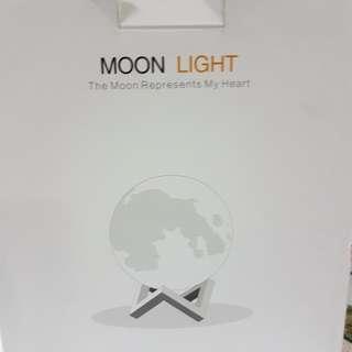 3D LED MOON LIGHT LAMP - 13CM