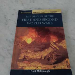 IB History Textbook: The Origins of the First and Second World Wars