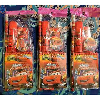 Cars Stationery Set
