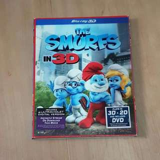 The Smurfs, Blu-ray 3D