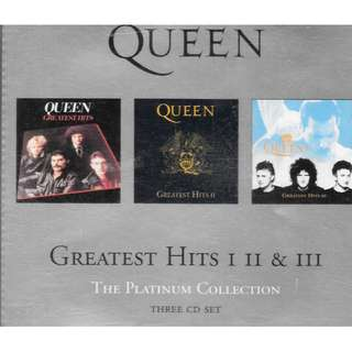 MY PRE-LOVED  CD-QUEEN 66 -GREATEST HITS - I,II, III- /FREE DELIVERY (F3D)