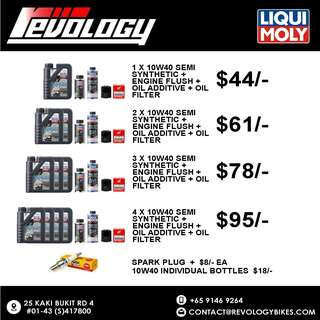 Liqui Moly Engine Oil Servicing