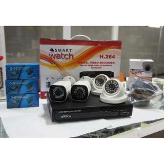 CCTV 720P HD Package with 1TR Storage (2 Indoor and 2 Outdoor)