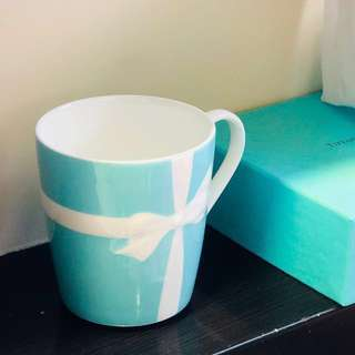 Tiffany & Co. Coffee Tea Cup  茶杯 咖啡杯 Mug