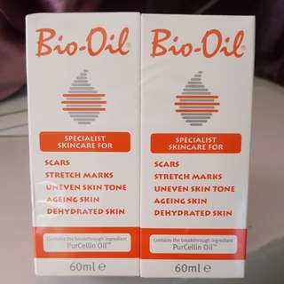 Bio Oil (Save for Pregnancy use) Twin Pack
