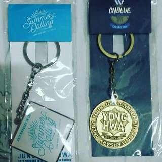 Cnblue 鄭容和 官方演唱會匙扣