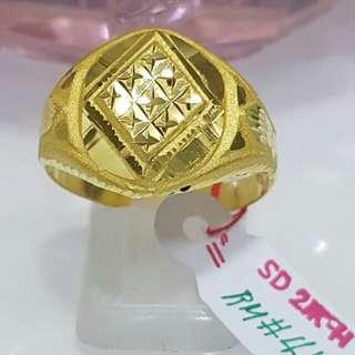 21k Saudi Gold Ring