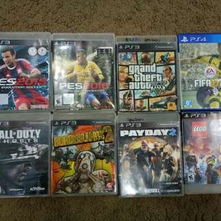 DvD Ps3 Pes..Payday