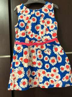Pre-loved gingersnaps girls dress since 2t