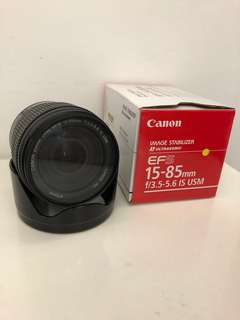 Buy Me: Canon 15-85mm