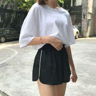 korean ulzzang outline shorts