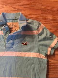 100% 🔥👕 authentic Hollister polo small