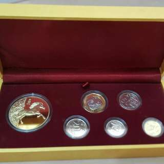 Standard Chartered Golden Horse Coin set