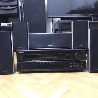 *Want to sell or trade* Onkyo Home Theatre AV receiver and Surround speakers