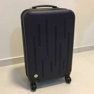 Navy blue hand carry sizs Luggage