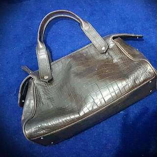 Ann Taylor Loft Authentic Leather Bag