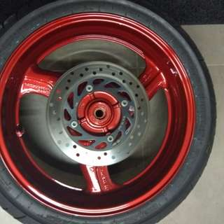 Motorbike Rims Spray
