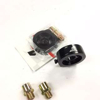 AEROMOTIVE  VS2  oil press & oil temp sensor  adapter  BLACK   model 41270