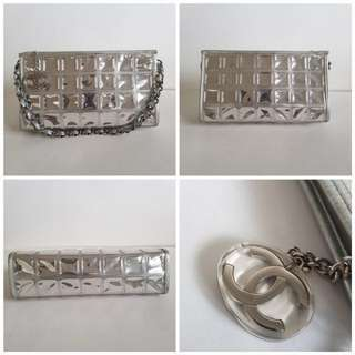 Authentic CHANEL runway Ice Pochette