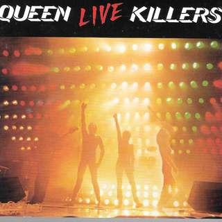 MY PRELOVED CD - QUUEN LIVE KILLER / FREE DELIVERY (F3D)
