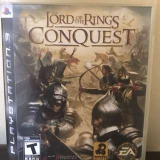 PS3: LORD OF THE RINGS CONQUEST
