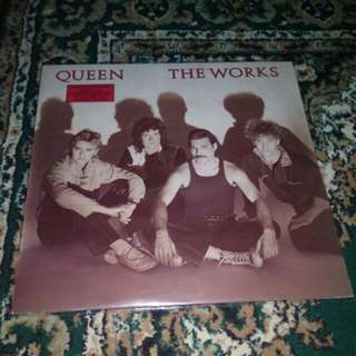 Queen The Works Vinyl LP