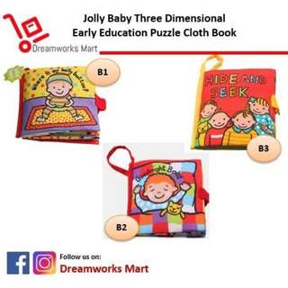 Free Delivery | Jolly Baby Cloth Book