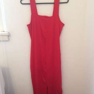 KOOKAI size 1 red bodycon dress