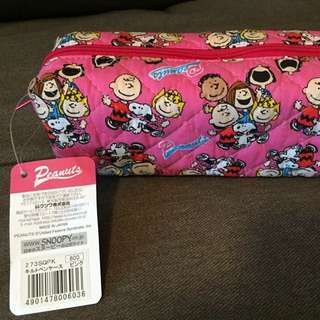 日本製 Snoopy 筆袋