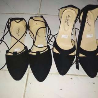 Ballerina Shoes & Strap Ankle Shoes