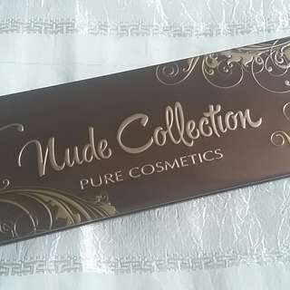 Nude collection Pure Cosmetics eyeshadow palette P1,200 SF included