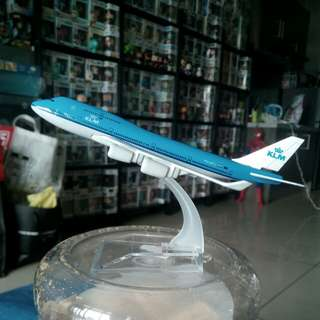 Brand new KLM airlines model plane