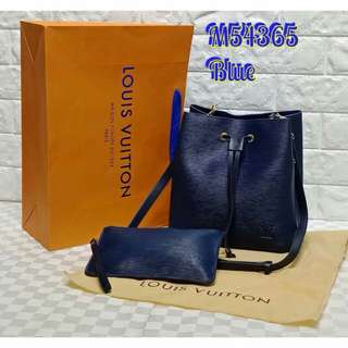 Louis Vuitton Neo Neo EPI Dark Blue Color