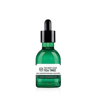 FREE POSTAGE The Body Shop Tea Tree Daily Solution